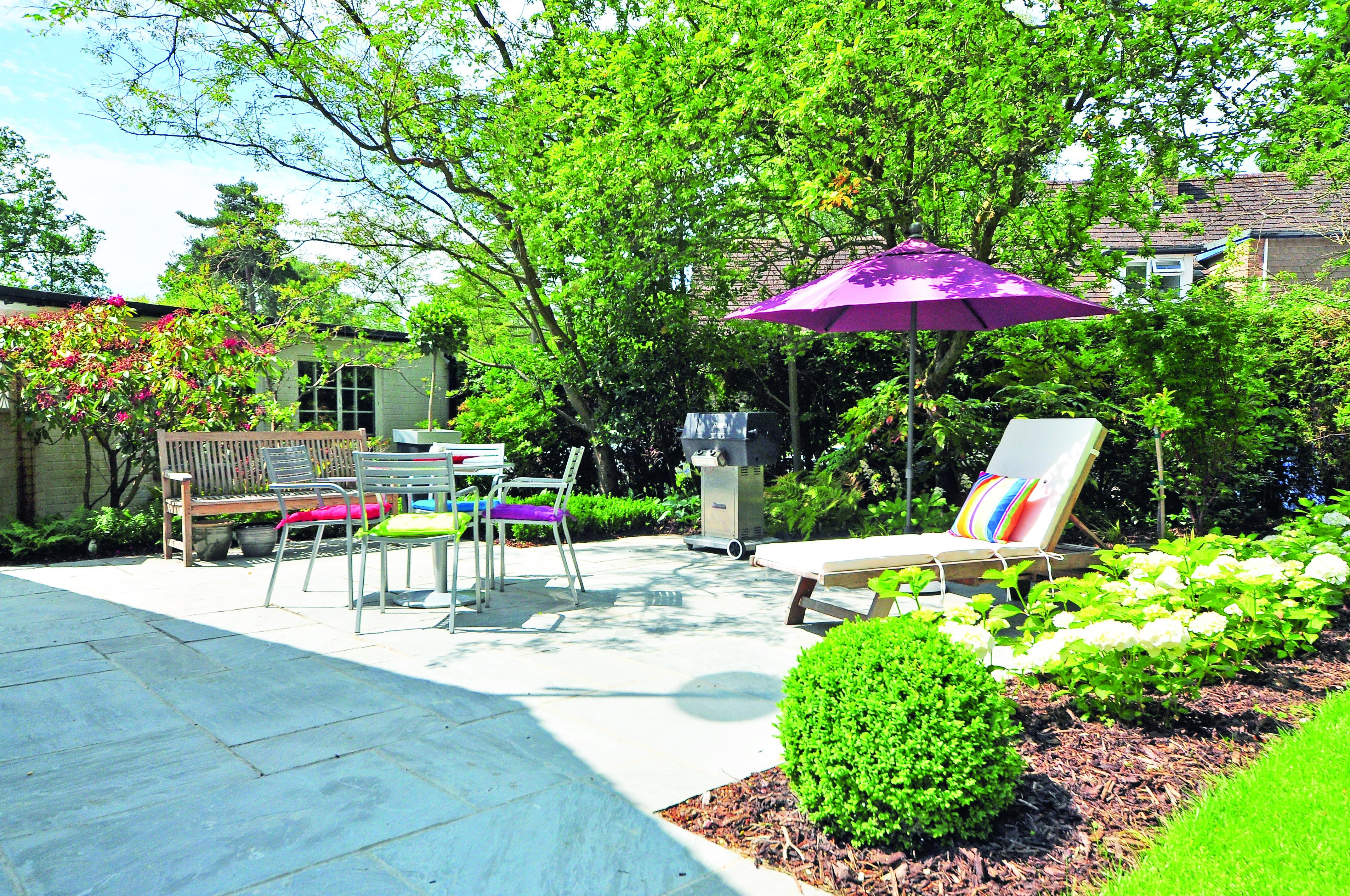 Petit ou grand, un jardin qui intègre l'indispensable règle des 3F