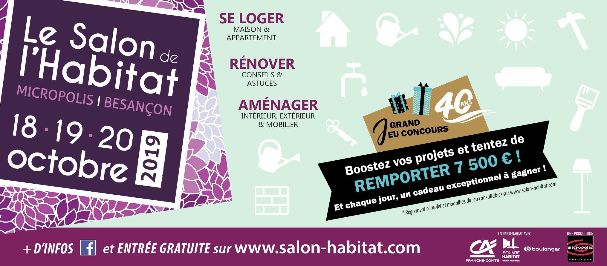 Le Salon de l'Habitat à Besançon