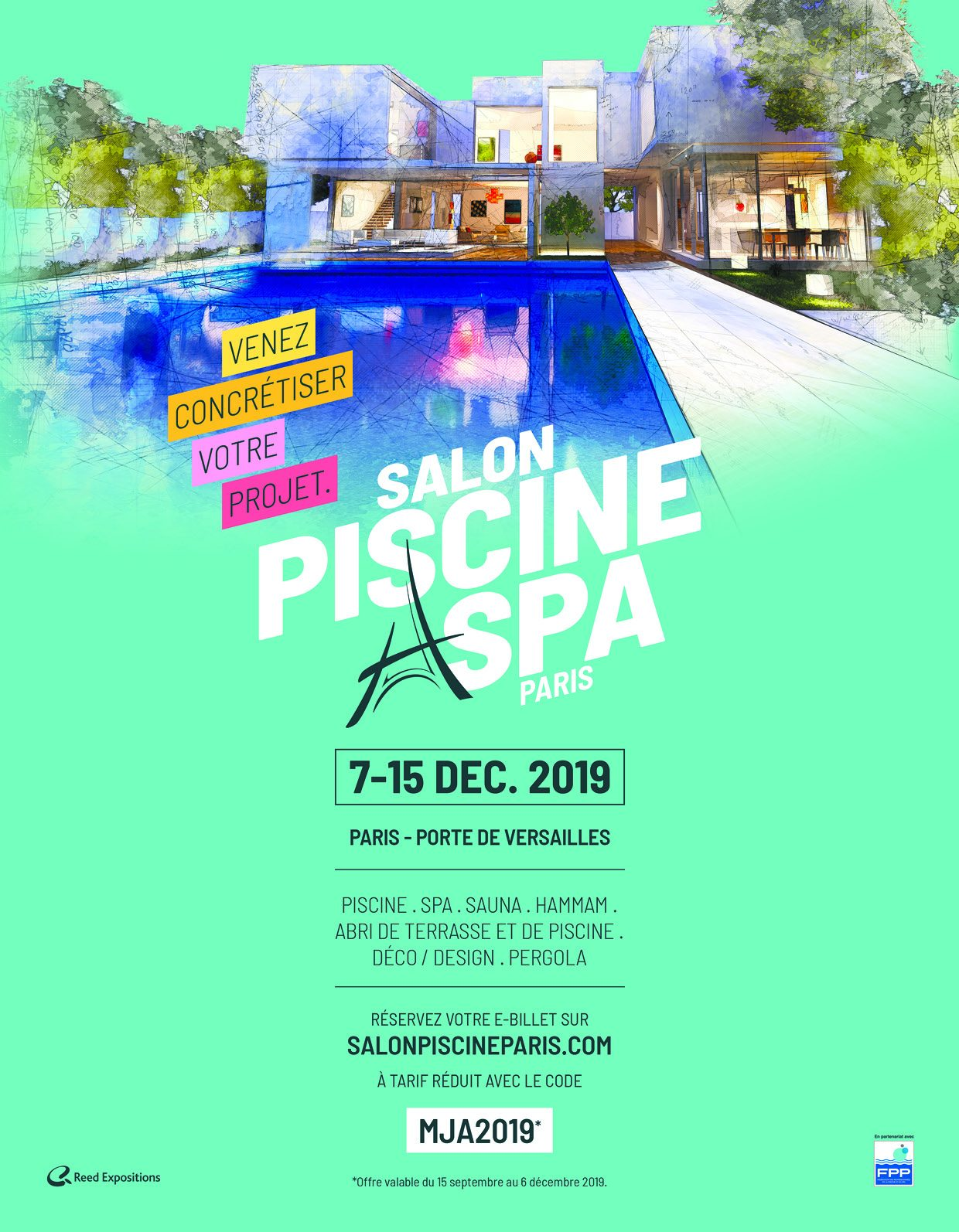 La Salon Piscine & Spa à Paris