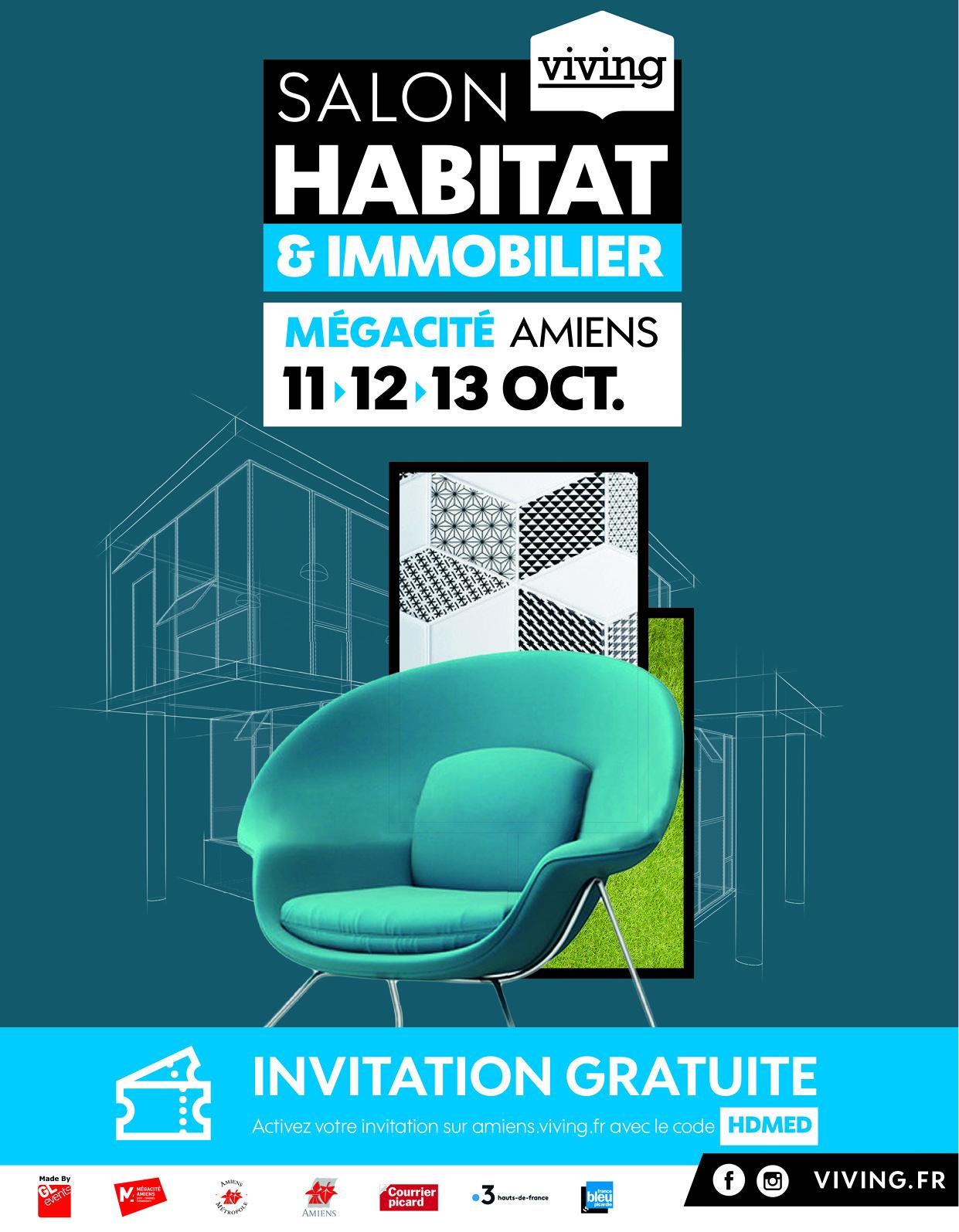 Le Salon Habitat & Immobilier à Amiens