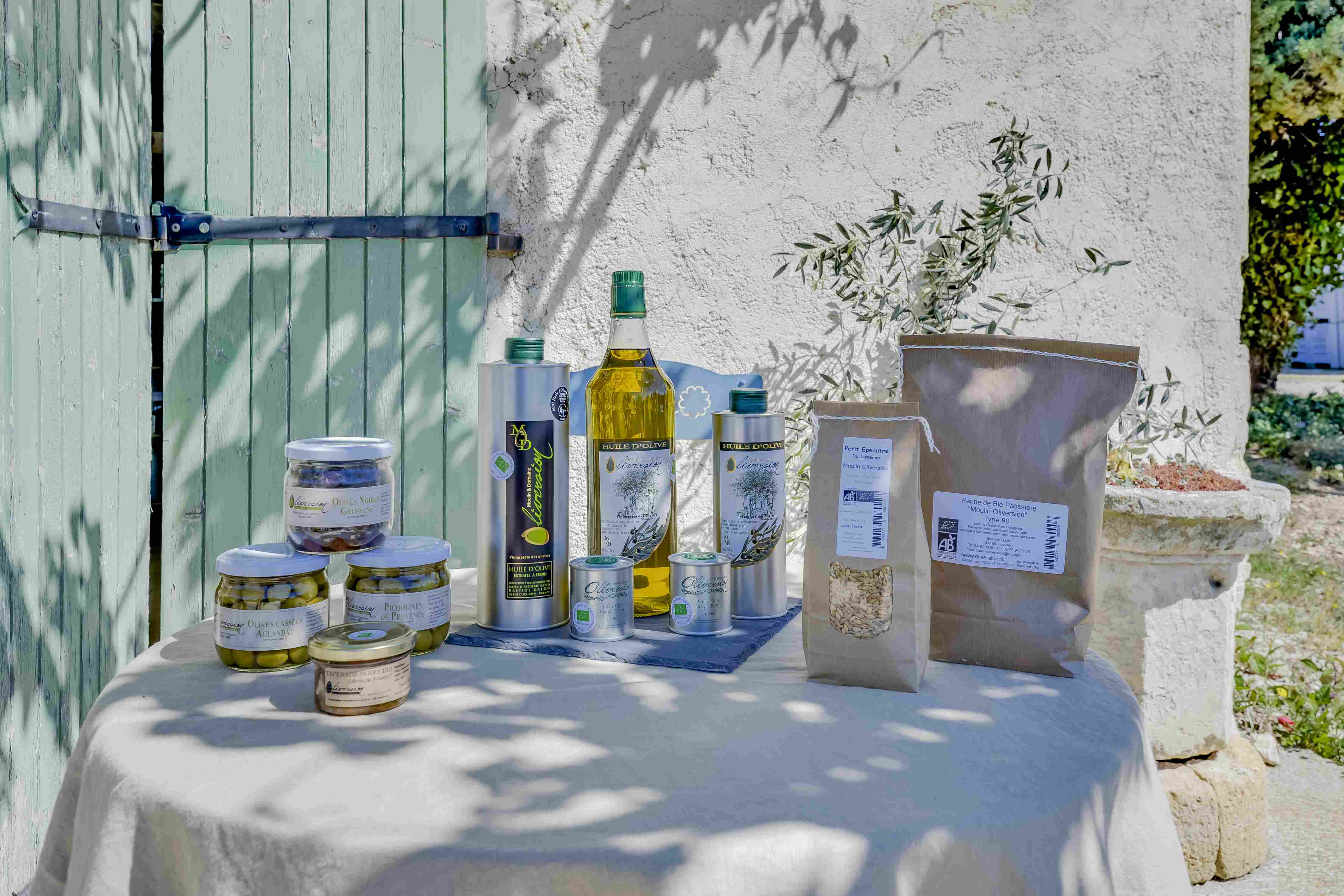 Domaine Oliversion : Huile d'Olive de Provence Bio et AOP