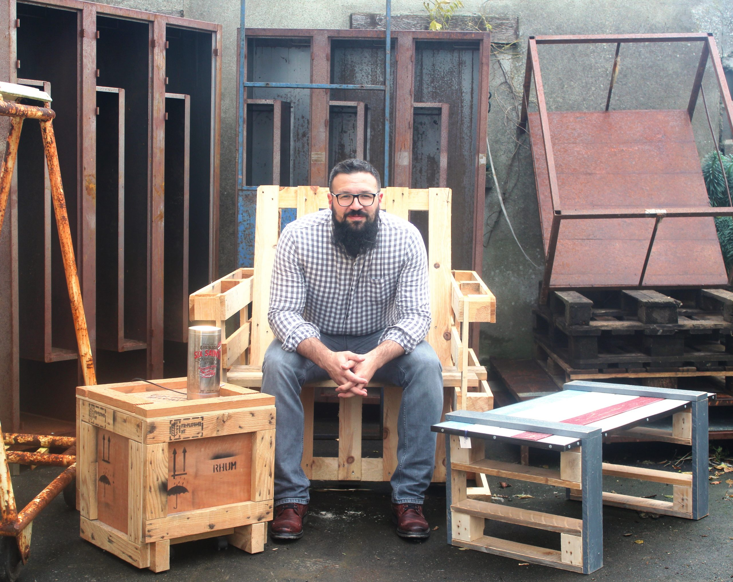 L'atelier Delmont: la récup' au service du design et du recyclage