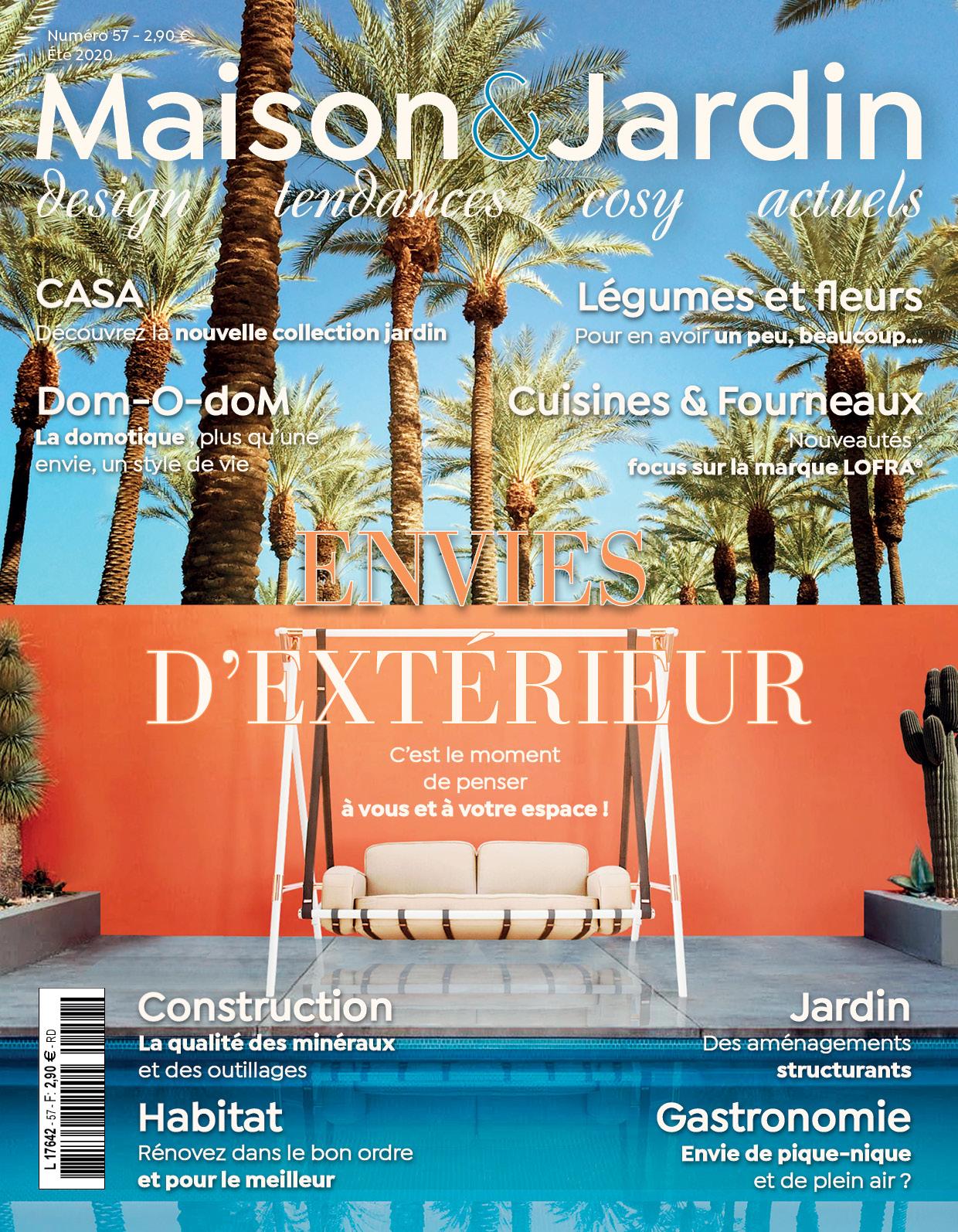 Maison & Jardin actuels: la prochaine publication en approche!