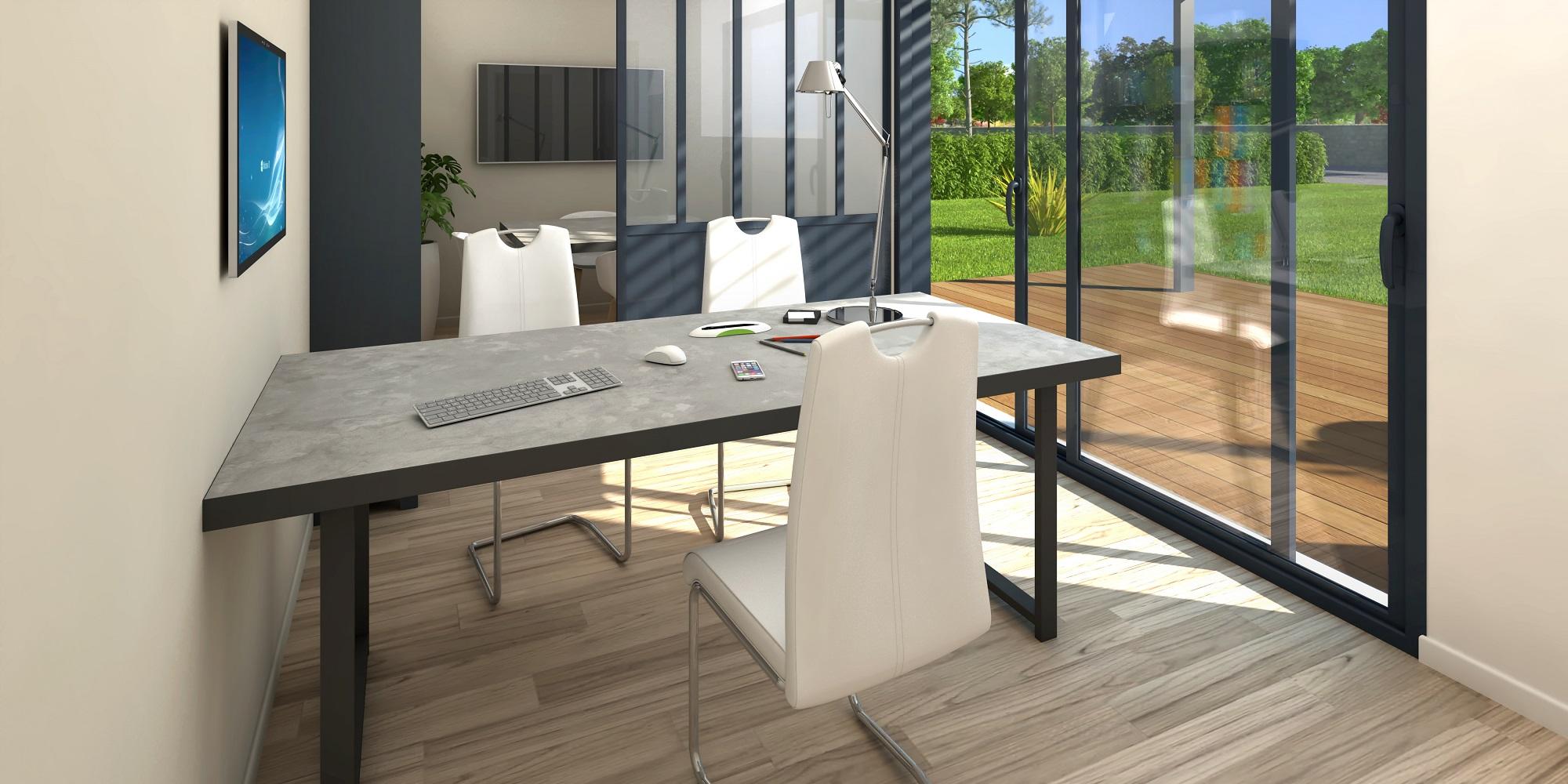 Natibox: studio de jardin Comment agrandir sa maison en une journée ?