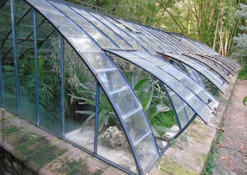 Des aménagements structurants au jardin