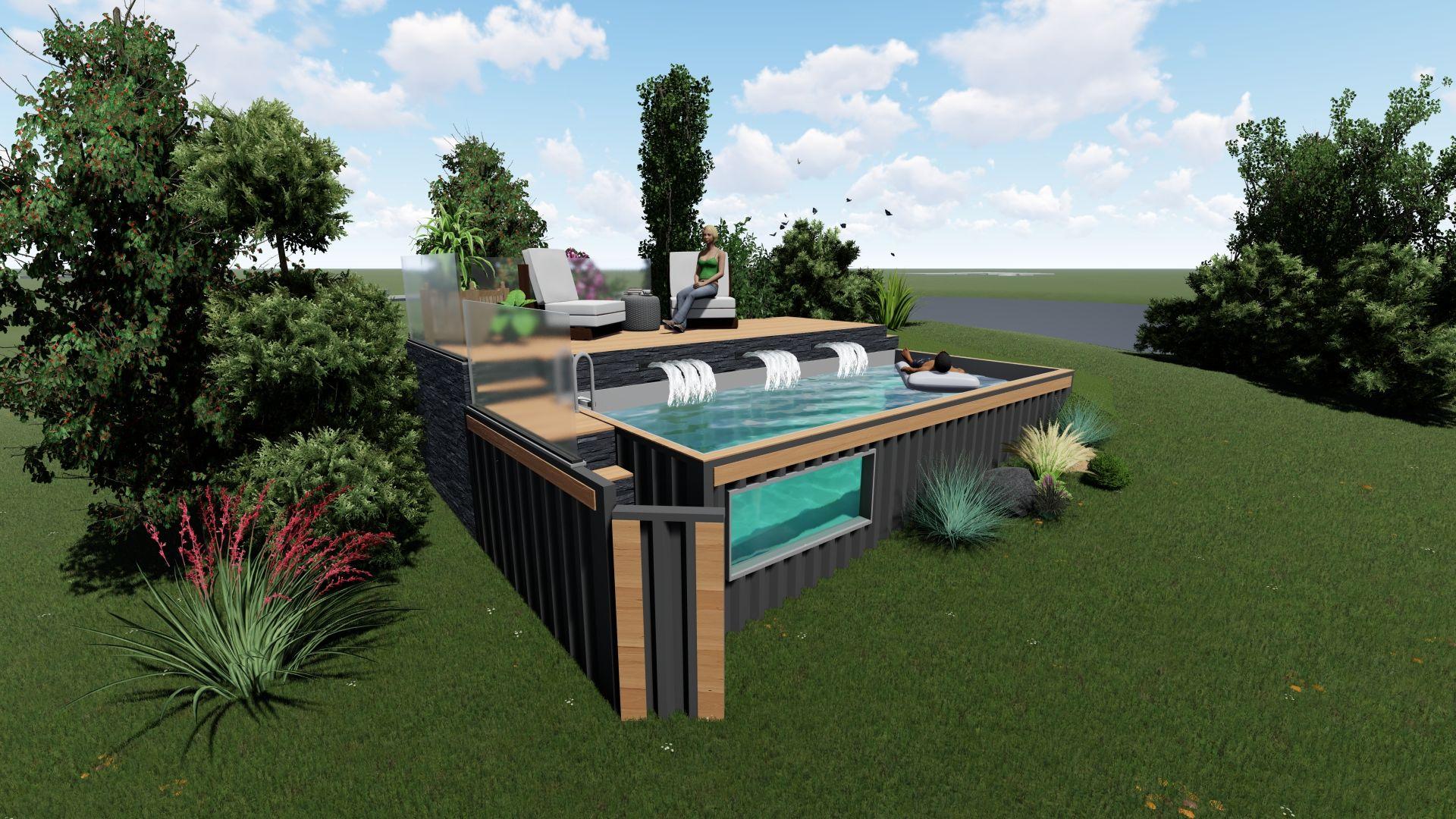 NEO-POOL©: concepteur de piscines «nouvelle génération» Made in France