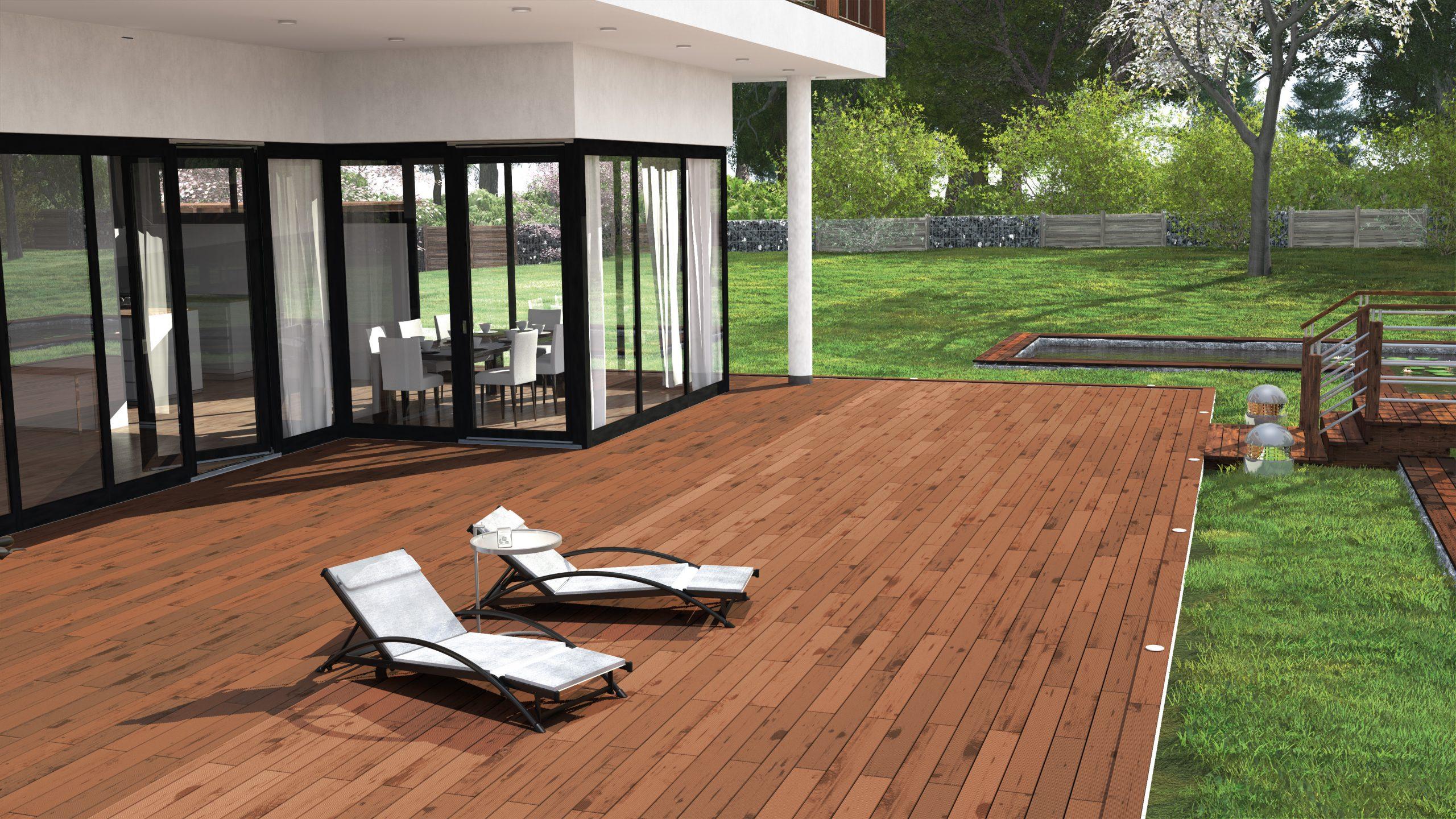 Créez la terrasse de vos rêves avec SPAX