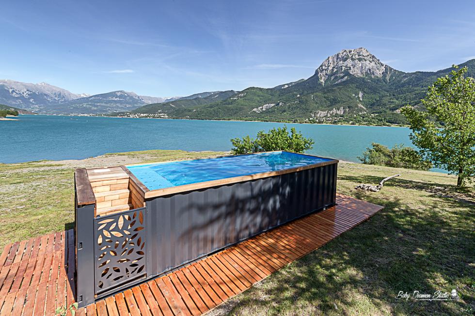 Lilly Box : Une piscine unique faite dans un conteneur !