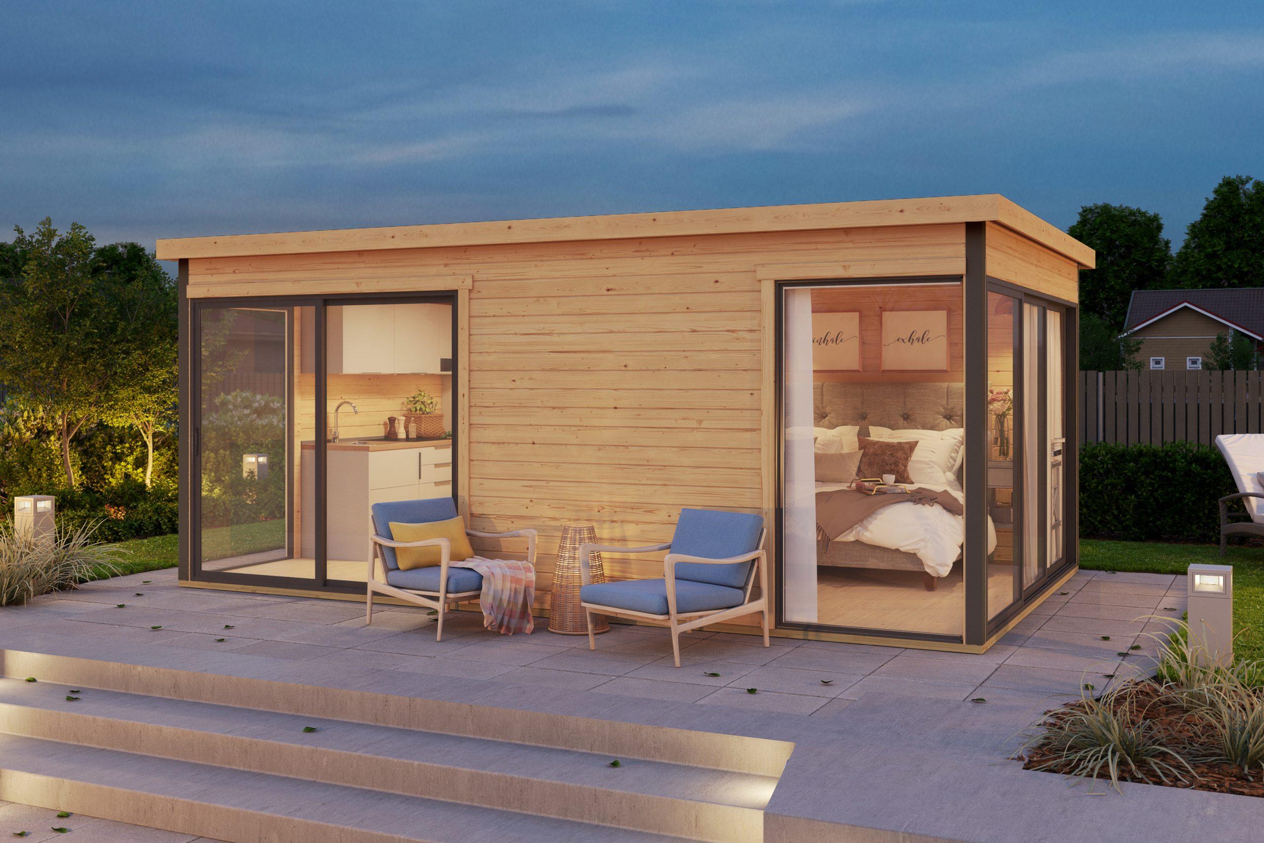 FRANCE ABRIStransforme votre abri de jardin en pièce à vivre !