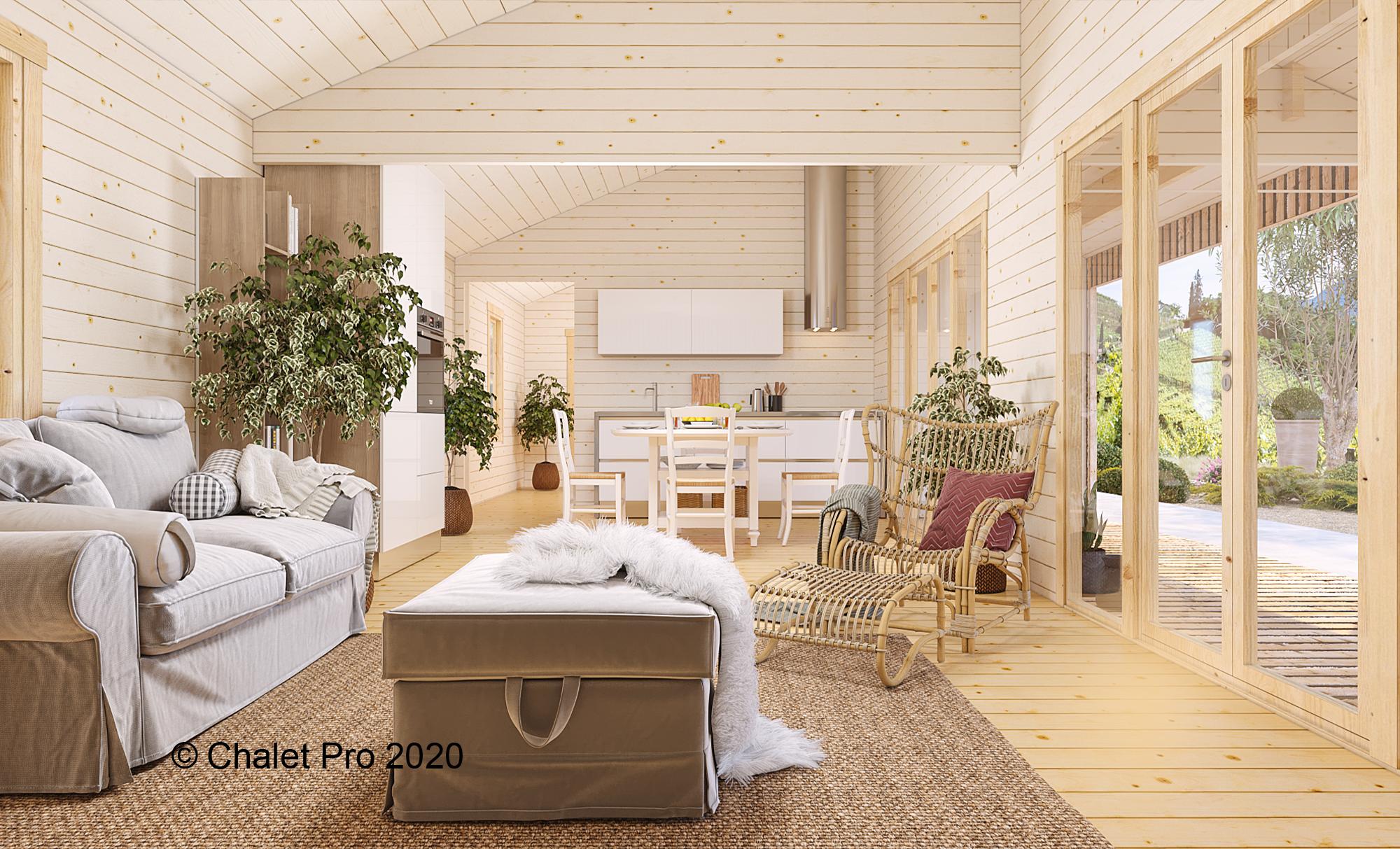 Chalet Pro: votre habitation en bois sur mesure!