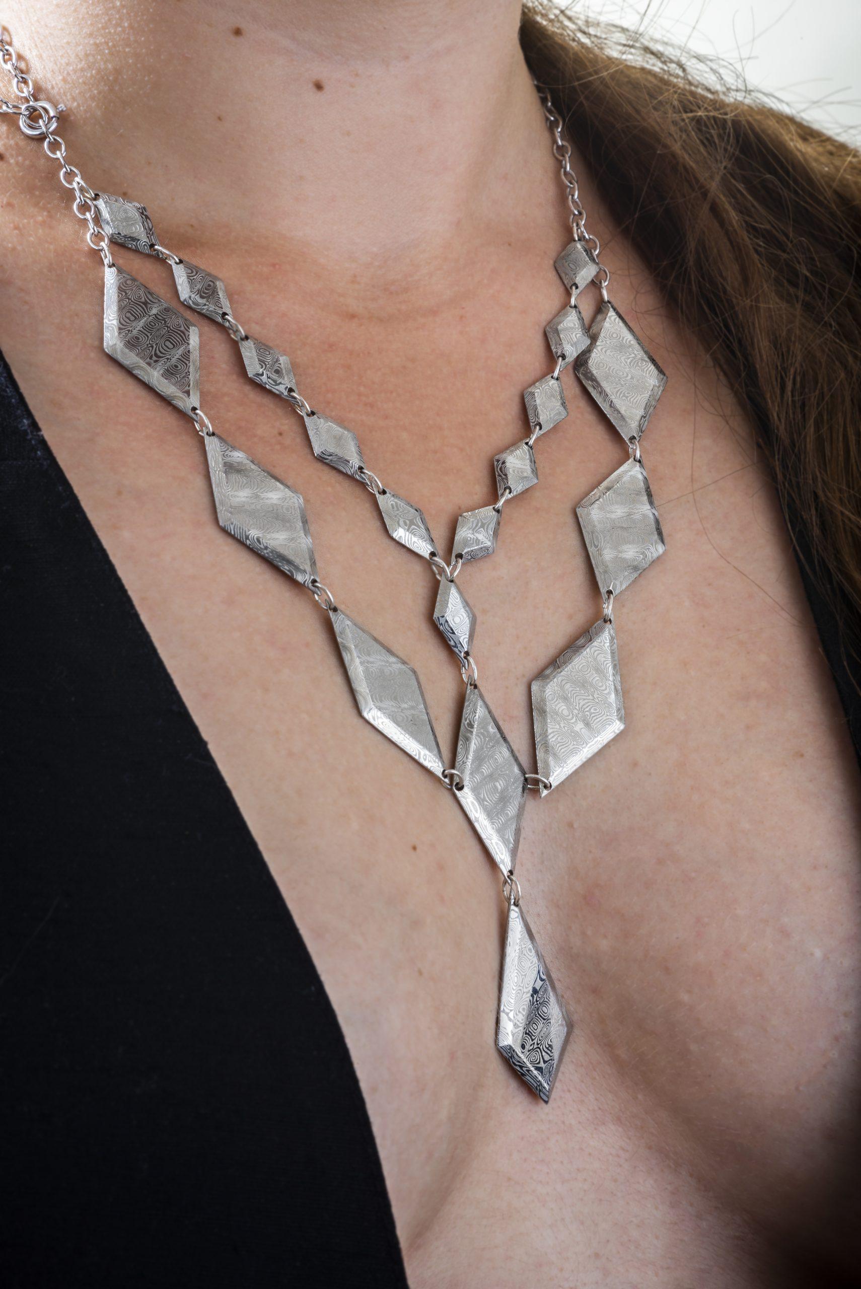 Atelier Landès : créateur de bijoux artisanaux en acier Damas