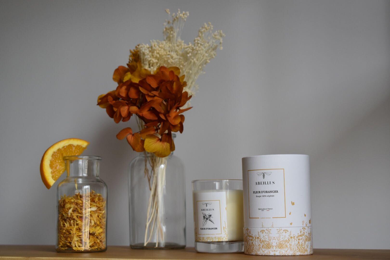 Abeillus est jardinier créateur et éditeur de bougies !
