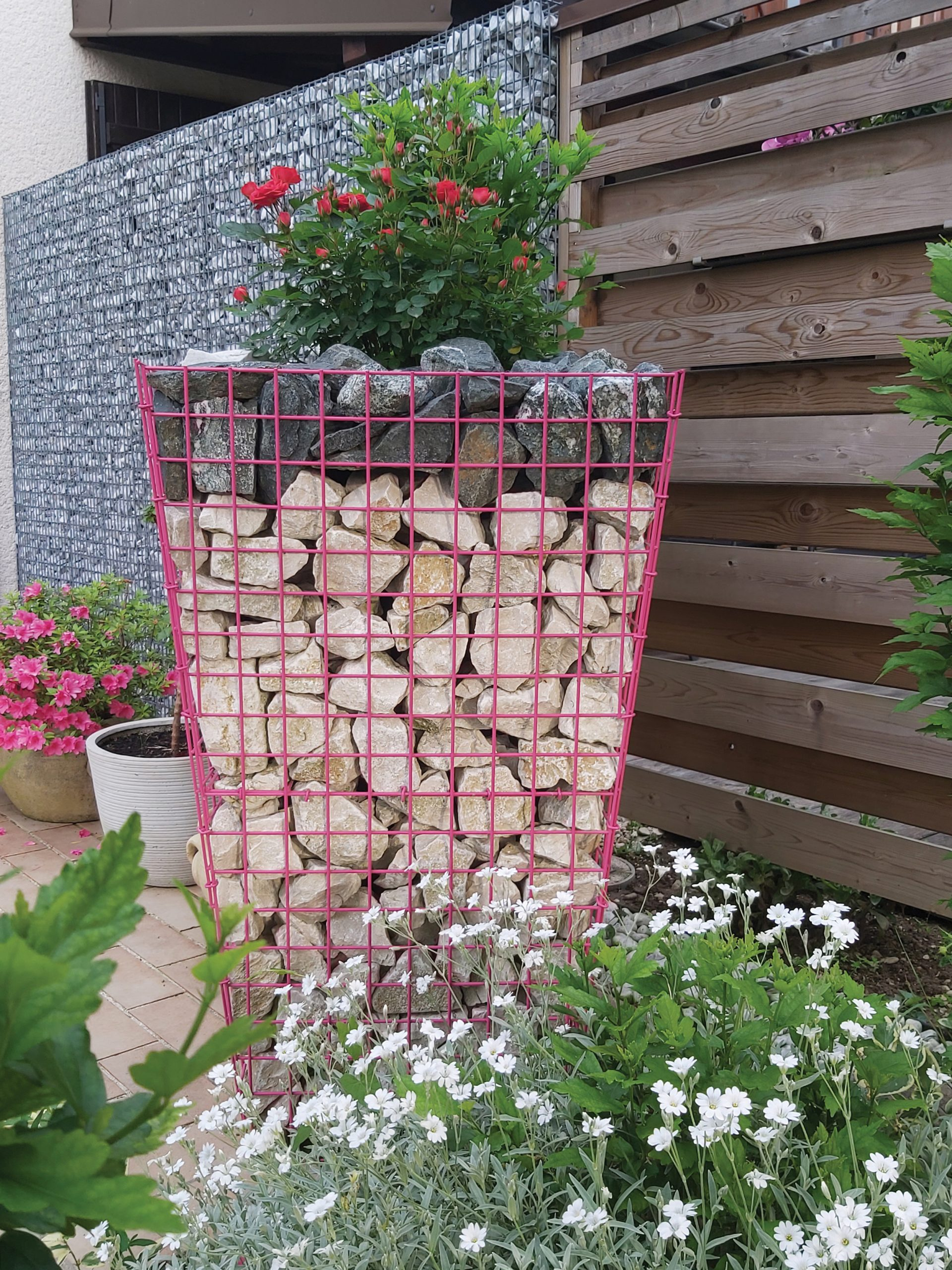 Fimurex Gabions : Un mur en gabions pour embellir et sécuriser votre extérieur