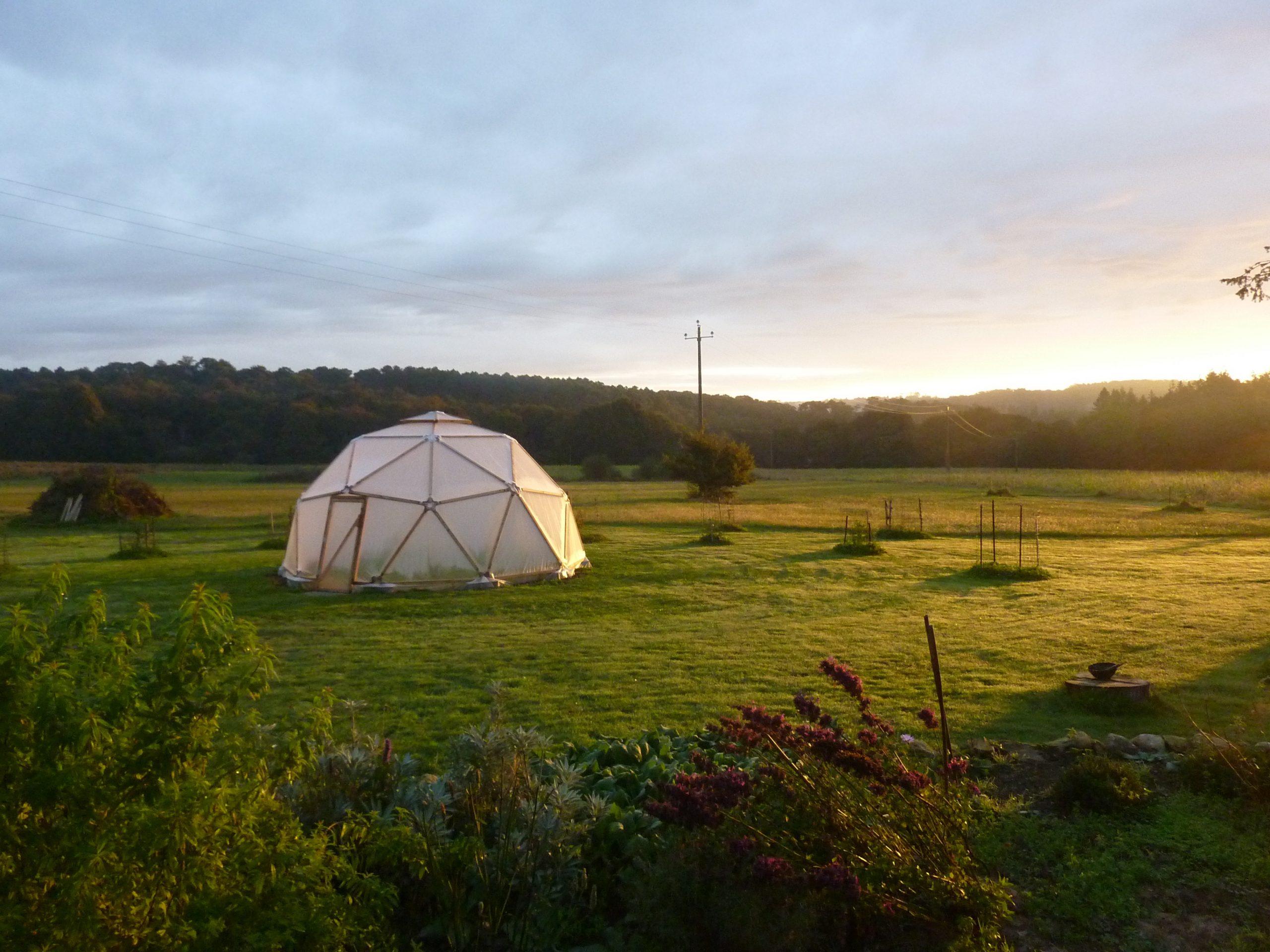 L'Odyssée du Bois : Le dôme géodésique, une structure en bois idéale dans votre jardin