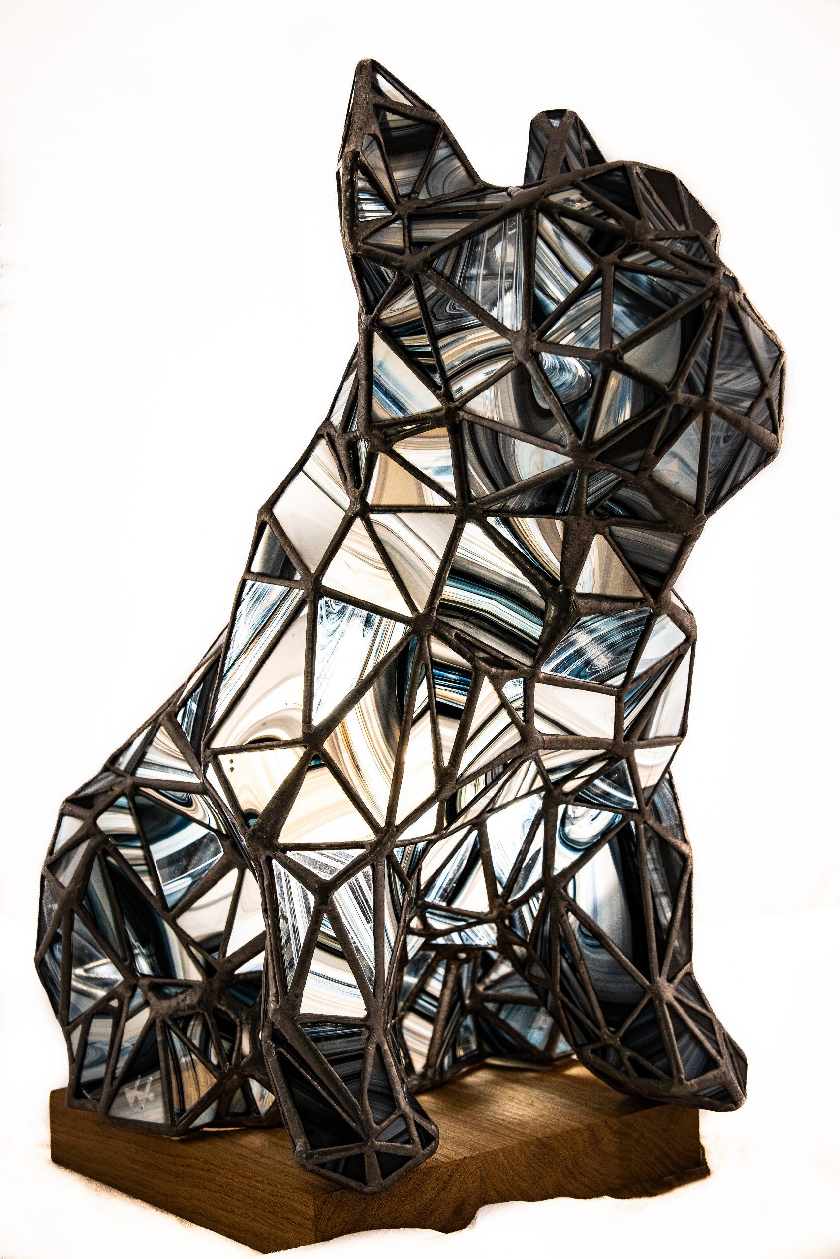 JimaJine, créateur contemporain de sculptures en vitrail