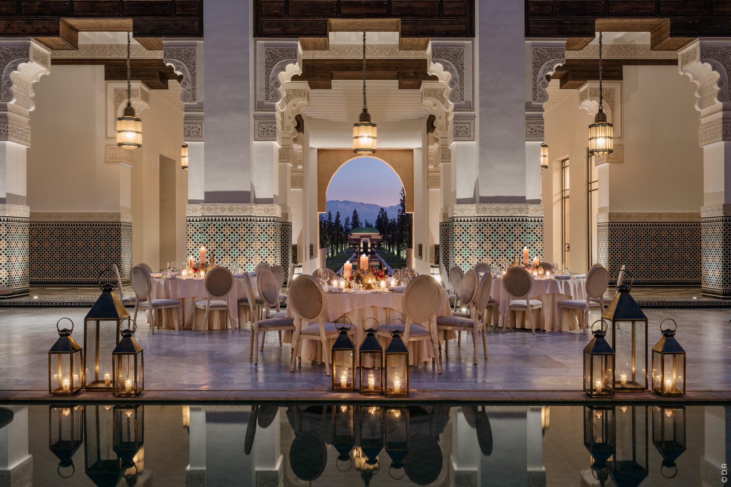 L'Oberoi Marrakech : Un hôtel 5 étoiles avec vue sur le Mont Atlas