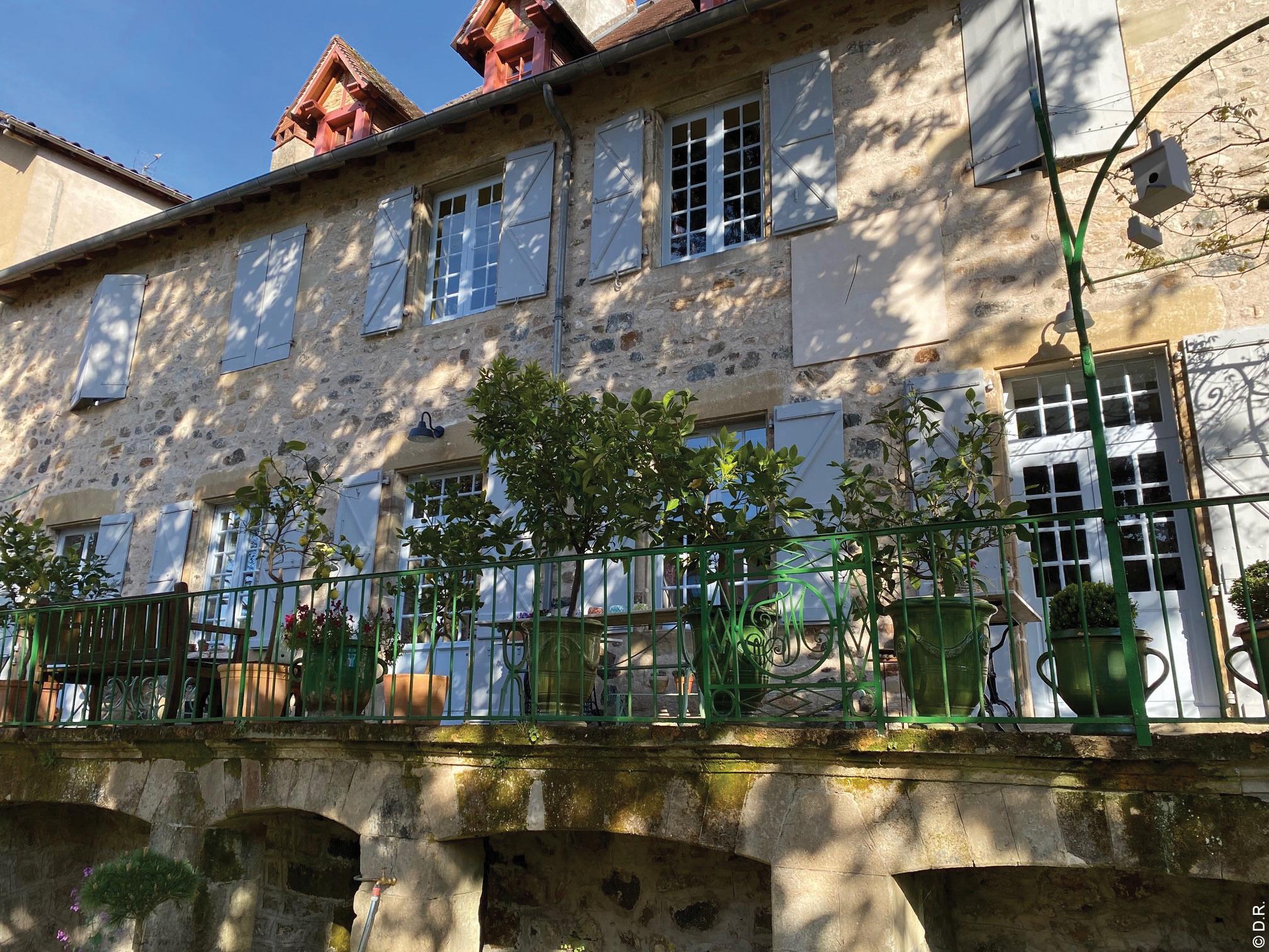 Clos Rodolphe, une halte d'exception en Corrèze, à quelques kilomètres du Lot, dans une atmosphère simple et raffinée