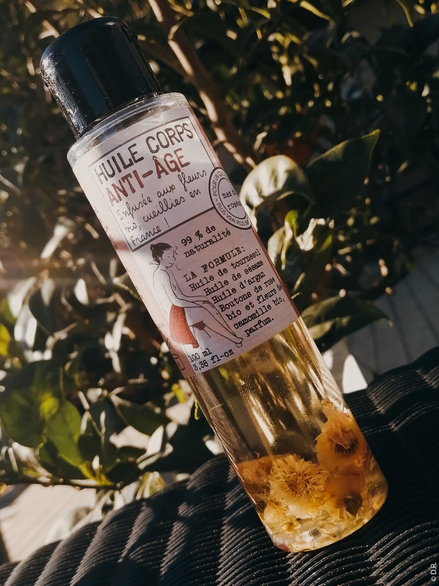 Le Mas Du Roseau : Un moment de douceur avec des huiles pour le corps infusées aux fleurs bio